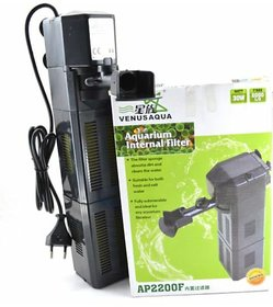Venus Aqua AP2200F Power Aquarium Filter  (Mechanical Filtration for Salt Water and Fresh Water)