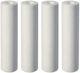 Pack of 4 Pieces of Best Quality RO Filter 10 Inch Spun Filter Pre-Filter Cartridge