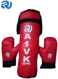 A1VK Kid's Boxing Set (Punching Bag, Gloves  Headgear)