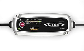 CTEK MXS 5.0 Car and Bike Battery Charger for 12v max 5 amp with 5 Year replacement Warranty