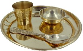 DINNER SET FOR LADDU GOPAL,