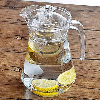 Crystal Cut Glass water jug jar 1.5 L Water Jar crystal jug beautiful yet smartly designed