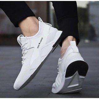 Buy Leegalaxy White Running Sports