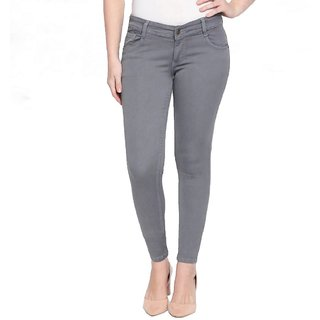 Lezendary Women Grey Jeans