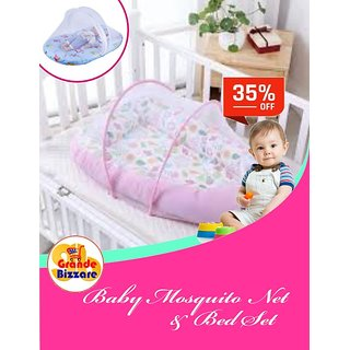 Baby Mosquito Bed Net With Pillow