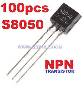 100pcs S8050 NPN General Purpose Transistor TO-92