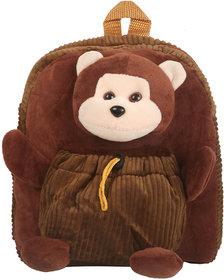 Pandora 15 Supersoft Plush Kids School Bags Multi Color For Girls Boys