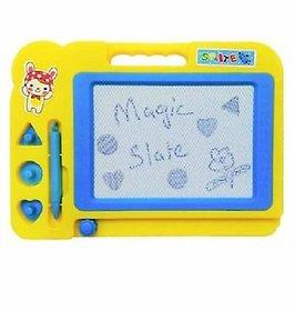Children Magic Slate Pen Doodle Pad Erasable Drawing Easy Reading Writing Learning Graffiti Board Kids