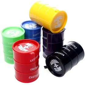 Kids Playing Barrel o Slime Pack of 6  Color May Vary