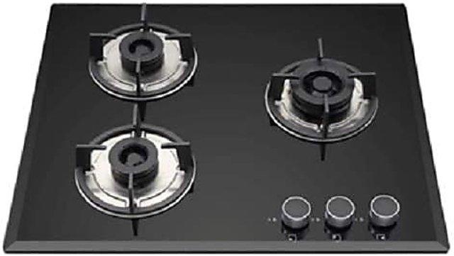 Buy Kaff 3 Burner Glass Hob Black Fbb 603 Online Get 32 Off