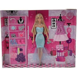 Barbie Sparkle and Shine Fashions Doll Multi Color