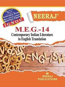 Neeraj MEG-14 (CONTEMPORARY INDIAN LITERATURE IN ENGLISH TRANSLATION)
