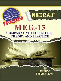 Neeraj MEG-15 (COMPARATIVE LITERATURE  THEORY AND PRACTICE)