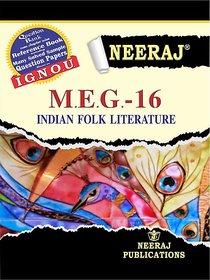Neeraj MEG-16 (INDIAN FOLK LITERATURE)