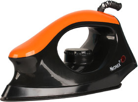 Monex Latest 1000W Orange Majesty Dry Iron (Made in india)