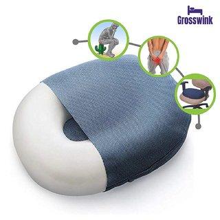 Grosswink-Donut Ring Cushion Pillow for Piles Hemorrhoid Coccyx Sciatic Nerve Pregnancy Tailbone Back Pain Fistula Prost