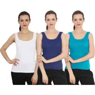 ChileeLife Women Camisole/Tops (Pack of 3, XXXL Size)