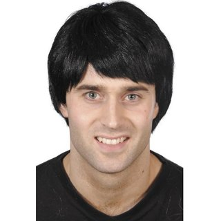 Elegant Hairs Original Fibre Synthetic Wig Black color for Men Boys (Size-8)