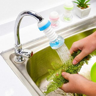 360 Degree Rotating Water-Saving Sprinkler and Faucet Aerator,