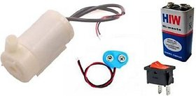 Cam Cart Mini Submersible Water Pump Dc 9V Original Educational Electronic Hobby Kit Motor Control Electronic Hobby Kit