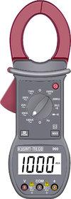 KUSAM-MECO 3 1/2 DIGITS 2000 COUNTS LCD DISPLAY DIGITAL CLAMPMETER (13 FUNCTIONS 10 RANGES)