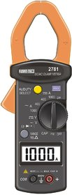 KUSAM-MECO 1000A DC/AC DIGITAL CLAMP METER (9 FUNCTIONS 32 RANGES)