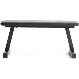 Scorpion Flat Bench  Fix Flat Weight Workout Exercise Bench - 40 x 13 x 12 Inches, Black - Flat Fitness Bench