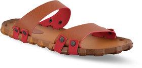 spain Tan slip on light weight slipper