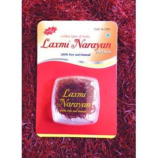 Laxmi Narayan Saffron, 500mg (100 pure finest Kashmiri Mongra Saffron