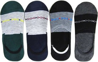 Cute look fashion Men Cotton Loafer Socks   (Pack of 12)