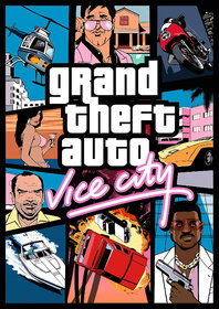 Gta Vice City ( No Any Download Required ) Pc Games  DVD Standard Edition ( Windows )