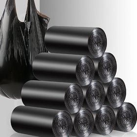 Large Garbage Bags/Trash Bags/Dustbin Bags (24 X 32 Inches) Pack of 4 (60Pieces) 15 Pcs Each Pack By MARKWELL