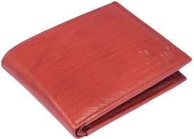 ALL DAY 365 RFID Protected Genuine Leather Wallet for Men Maroon