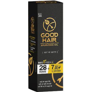 Good Hair Oil India's 1st Hair Oil With 28 Herbs + 7 Essential Oil Ka Abhed Kavach