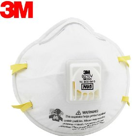 3M Particulate Respirator 8210, N95 Facemask - 1 mask