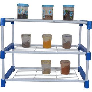 RMA Handicrafts Kitchen Rack Blue (3L)