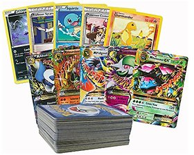 FC Pokemeon Go cards( 10 Packs ) Playing cards for boys and kids