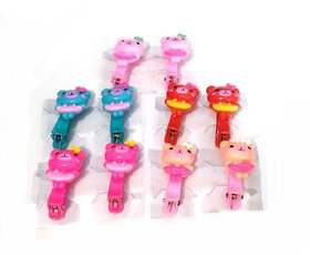 Unique Cartoon Character Claw Clips For Baby Girls Hair tie Hair Accessories (Set Of 5 Pairs)