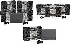 Vaadi Herbals Activated Charcoal Soap(10x75 g)