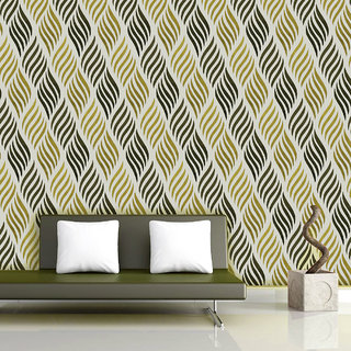 Geometric Patterns Wallpapers Multicolor (60 cm X 300 cm)