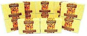 Vaadi Mega Pack Of 12 Herbals Lavish Almond Soap (12x 75 g)