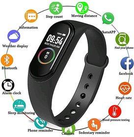 OSM ENTERPRISES  M4 Smart Wrist Band with Pedometer/Activity Tracker/Waterproof/Heart Beat Sensor/Sleep Monitor Compatib