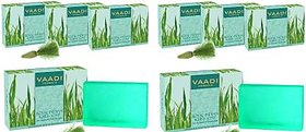 Vaadi Herbals Royal Indian Khus Soap With Olive Soyabean Oil (75 gms x 8)