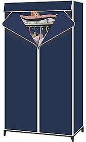VOX Best Fancy and Foldable Portable Wardrobe Organizer Almirah Single Door