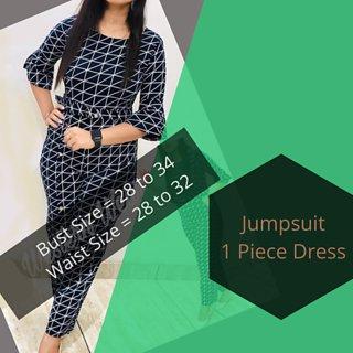 Stylish Sensational Woman Jumpsuit