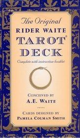 The Original Rider Waite Tarot Pack Cards
