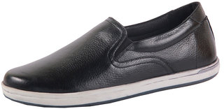 Feet First Leather Slip-on Casual  Shoes for Men