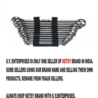 KETSY 817 (12-Piece Combination Spanner (7mm, 8mm, 9mm, 10mm, 11mm, 12mm, 13mm, 14mm, 15mm,17mm, 19mm and 22 mm)