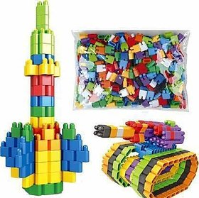 Creative Assembled Slim bullet shape Blocks Educational  Learning Construction Engineering Set Interlock Connecting Kit