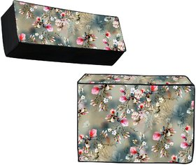 Premium Quality PVC Waterproof and Dustproof Split AC Cover for 1.5 ton Indoor and Outdoor Unit,40x10x13 Inches
